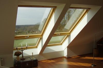 Pose de velux, fenêtre de toit